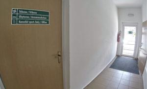 Vstupní chodba, bezbariérový vchod