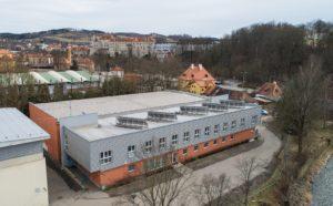 Celkový pohled, v pozadí zámek Český Krumlov
